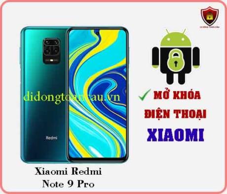 Mở khoá điện thoại Xiaomi REDMI NOTE 9 PRO