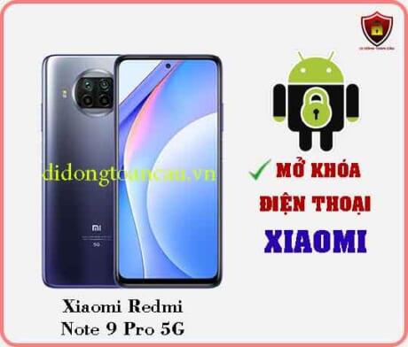 Mở khoá điện thoại Xiaomi REDMI NOTE 9 PRO 5G