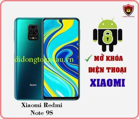 Mở khoá điện thoại Xiaomi REDMI NOTE 9S