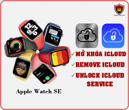 Mở khóa iCloud Apple Watch SE