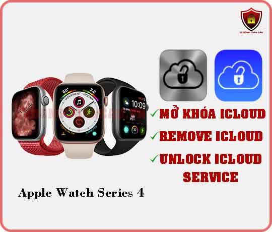 Mở khóa iCloud Apple Watch Series 4