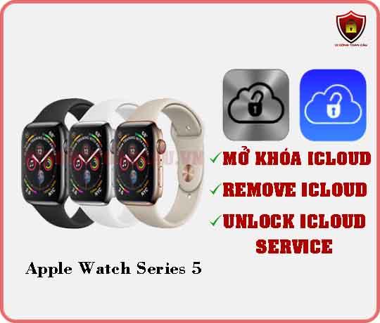 Mở khóa iCloud Apple Watch Series 5