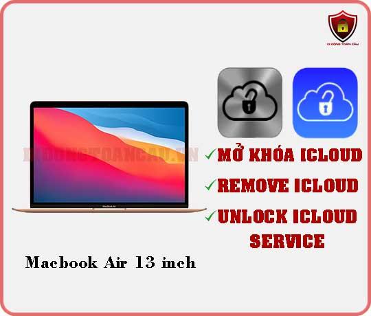 Mở khóa iCloud Macbook Air 13 inch