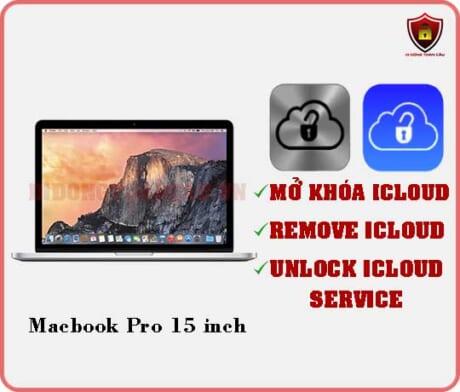 Mở khóa iCloud Macbook Pro 15 inch
