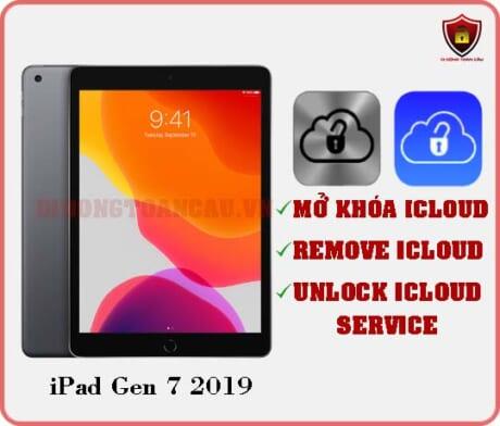 Mở khóa iCloud iPad Gen 7 2019