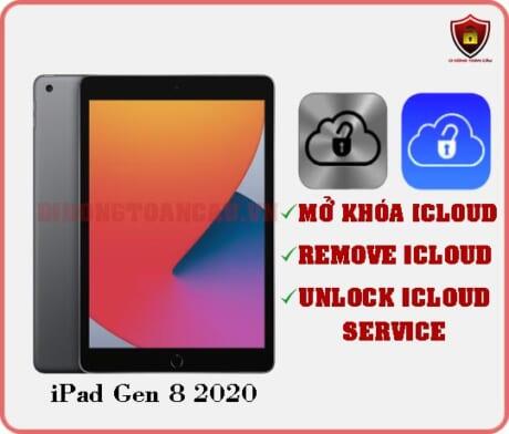 Mở khóa iCloud iPad Gen 8 2020
