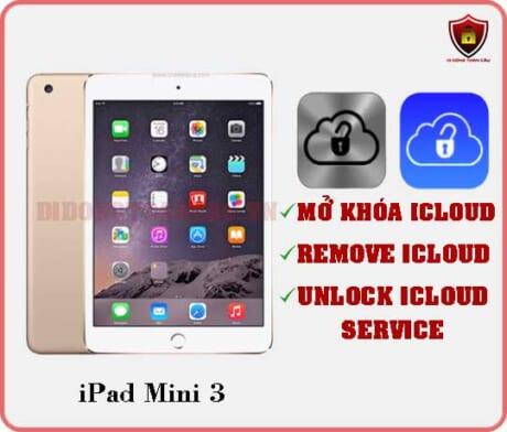 Mở khóa iCloud iPad Mini 3