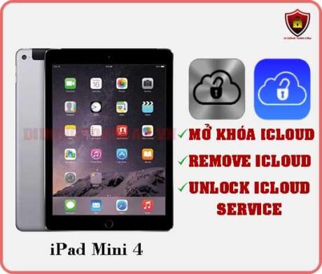 Mở khóa iCloud iPad Mini 4