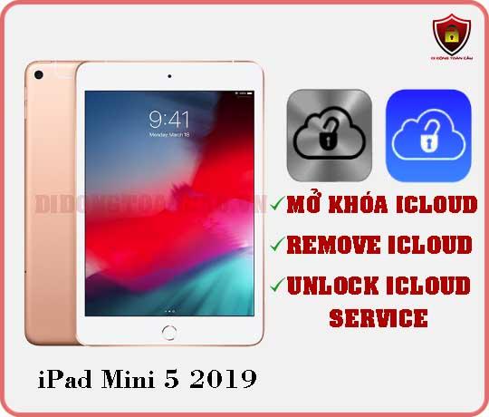 Mở khóa iCloud iPad Mini 5 - 2019
