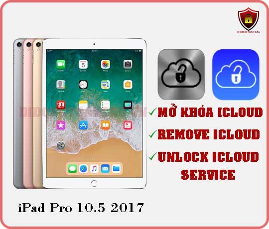 Mở khóa iCloud iPad Pro 10,5 inch 2017