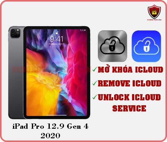 Mở khóa iCloud iPad Pro 12,9 inch Gen 4 2020