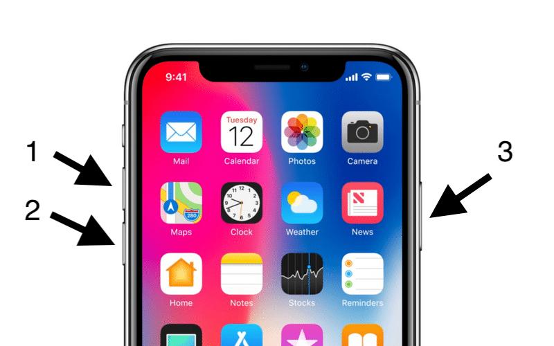 Cách khởi động lại iPhone (Trên tất cả các đời máy) 1